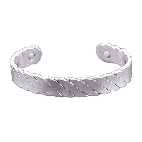 JZTRADING Magnetarmband Für Die Wechseljahre Arthritis Schmerzlinderung Armreif Schmerzlinderungstherapie Gewichtsverlust Magnetarmband -
