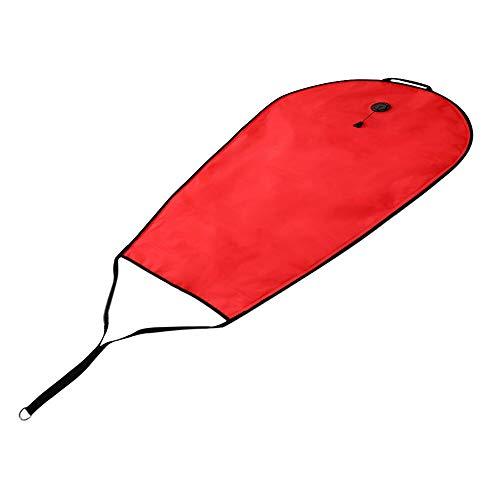 Tauchen 50 Pfund Hebekissen Tauchen 50 Pfund Auftriebskissen Angeltasche Hebekissen, Rot