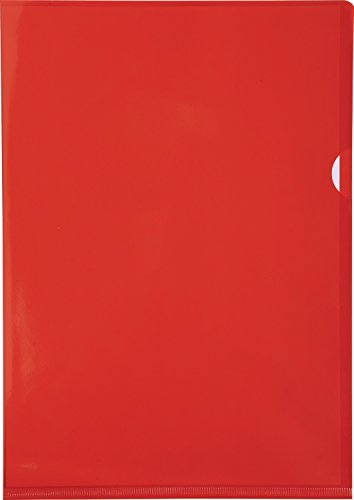 Exacompta 660575E Buste, 31 x 22 x 0.40 cm, Rosso