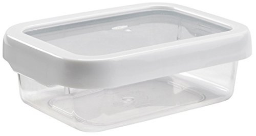 OXO Good Grips LockTop 22-1/2-Ounce Rectangle Container with White Lid