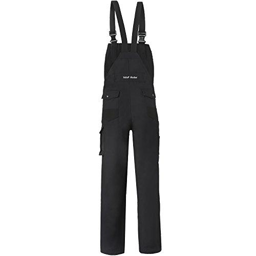 Havep 2943 M2500H-50 Latzhose Worker, Schwarz, H50