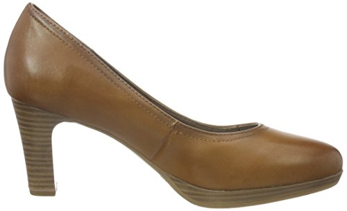 Tamaris 22410, Escarpins Femme Marron (NUT ANTIC 420)