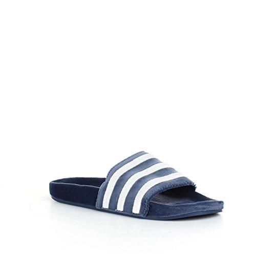 adidas Adilette, Chaussures de Plage et Piscine Homme Bleu