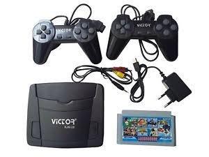 GARNER VICTOR 8 BIT TV VIDEO GAME WITH CASSETTE
