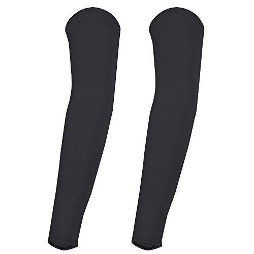 trixes-manicotti-in-lycra-neri-da-ciclista-unisex-per-la-compressione-e-la-protezione-della-pelle