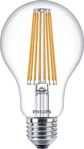 Philips Classic LEDBulb ND 11-100W E27 827 A67 CL LED-Lampe, Filament, ersetzt - 100w Classic-serie
