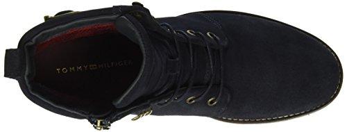 Tommy Hilfiger Damen W1285endy 10b Kurzschaft Stiefel Blau (midnight 403)