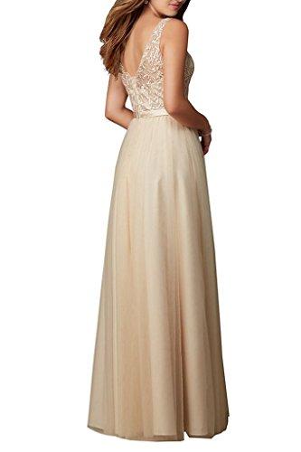 Ivydressing -  Vestito  - linea ad a - Donna Orange