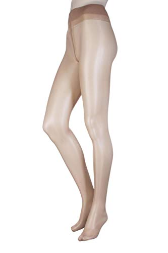 feb4b1a078bb2 Ladies 1 Pair Oroblu Magie 20 Denier Silky Sheer Nude Tights Sun Touch Large