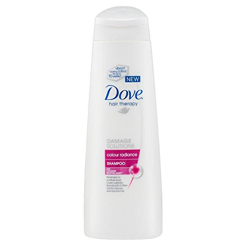 Dove Hair Therapy Solutions Dommages Couleur Radiance Shampoo (250ml) - Paquet de 6