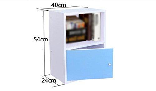 DFHHG® Estantería, Librería Combinada Paneles a base de madera Blanco Rosa durable ( Color : #2 )