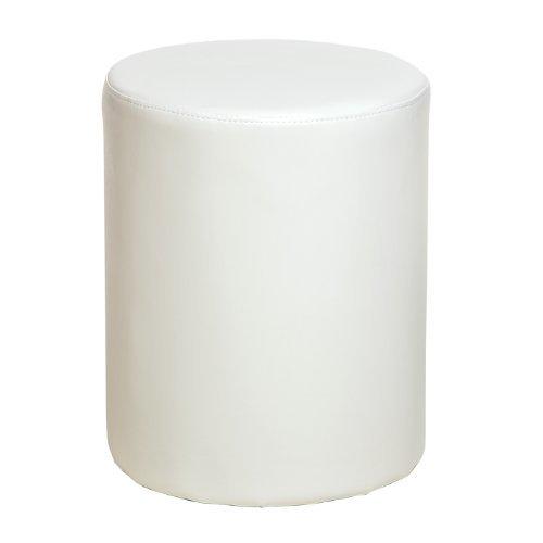 bedroom stool. Round Faux Leather Bedroom Stool  Cream Amazon co uk Kitchen Home