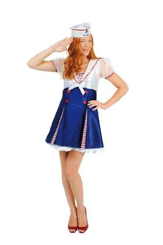 Cesar - C207-002 - Costume - Disguise - Ahoy Matey Sailor Woman - Taglia 42-44