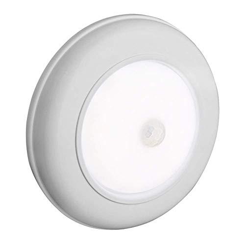 Deckenlampe, Modernes Badezimmer Flur Surface Mount LED Balkon Einfache Installation Bewegungsmelder Batterienbetrieben Hell Eingang Wohnzimmer Nacht - Weiß, Free Size