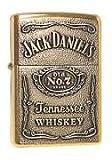 #9: Jack Daniel's Golden Zippo Style Premium Quality Stylish Refillable Cigarette Lighter