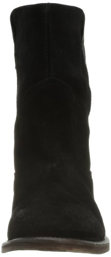 Hudson Hanwell, Chaussures montantes femme Noir (Suede Black)