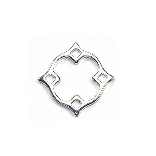 amoracast-am129-s-sterling-silver-link-diamond-nimbus-small-jewelry-making-components-13mm-by-amorac