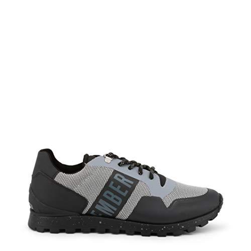 Bikkembergs Herren Fend-ER 2217 Sneaker Grau (Grey/Black 430) 44 EU