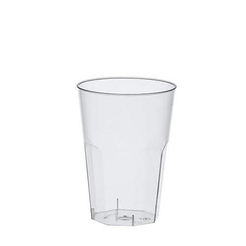bH 30x 300ml Cocktail Becher - Trinkbecher Deco aus PP alt. zu Mehrweg/Mehrwegbecher Trinkbecher Cocktailbecher ()