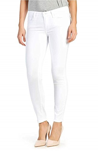 Ansh Fashion Wear Women's Denim Jeans - Regular Fit Denims - Mid Rise - Full Length- White in Color  available at amazon for Rs.745