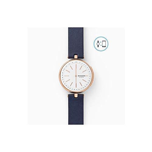 Skagen orologio analogico quarzo donna con cinturino in pelle skt1412