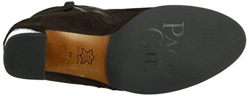 Paco Gil - P3151, Stivali a metà polpaccio con imbottitura leggera Donna Marrone (Braun (MOKA))