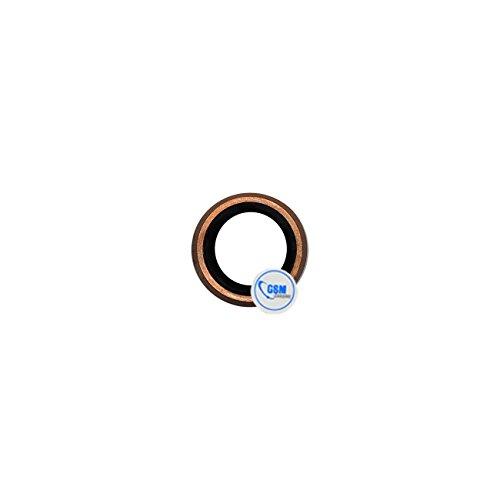 plaque de verre lentille de caméra boîtier de l'appareil photo en pour objectif pour Apple iPhone 6S or rose # itreu