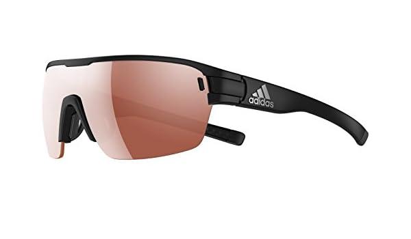 Adidas Brille ad06 ZONYK AERO black matt 9100 LST Active silver (Small)