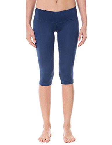 CRZ YOGA Damen Sport Yoga Leggings – Capri Tights - 2