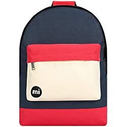 Mi-Pac Mochila de a Diario, Blue Black/Red 740001-S30