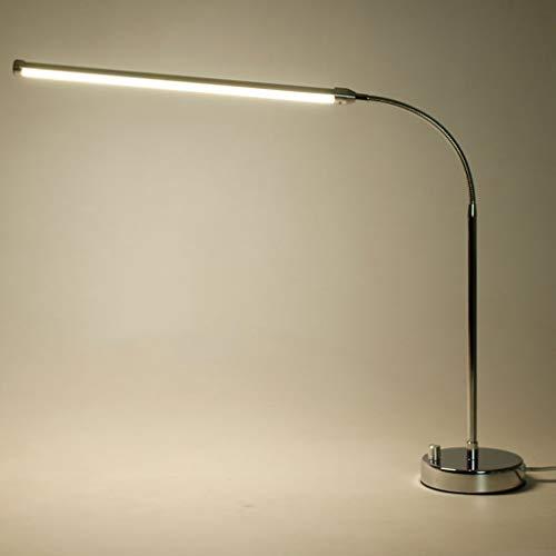 * Wohnzimmer Stehlampe Stehlampe, Led Edelstahl Augenschutz Lernen Licht * Lesen Stehlampe,Natürliches Licht,9w - 9 Natürliche Licht