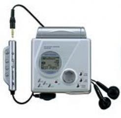 Sharp MD-MT99H tragbarer MiniDisc-Player und Rekorder