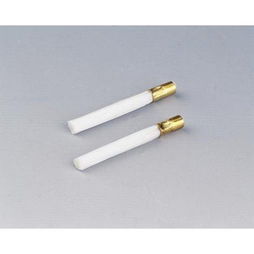 Hama 2er Set Ersatzmienen für Glasfaserradierer, Weiß