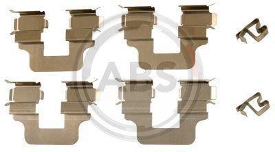 ABS 1245Q Kit di Pastiglie per freno a disco