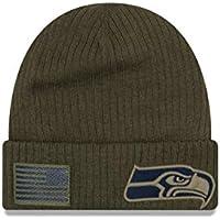 New Era Seattle Seahawks Beanie On Field 2018 Salute to Service Knit