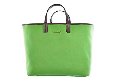 Dsquared2 borsa donna a mano shopping nuova originale verde