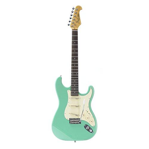 E-Gitarre ST Vintage Surf Green