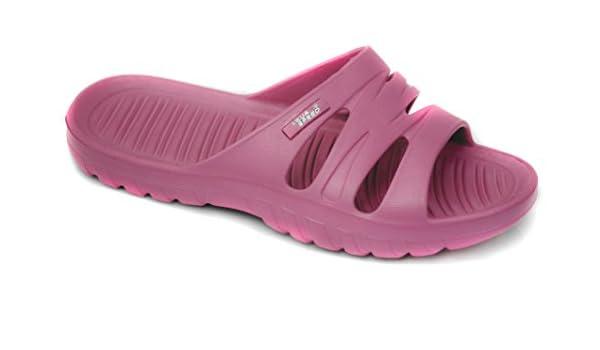Aqua Speed Vena Damen Badeschuhe/Badelatschen mit Anti-Rutsch Sohle (pink, 31)