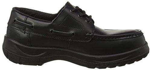Himalayan Wide Grip Safety Shoe, Scarpe antinfortunistiche Uomo Black (Black)
