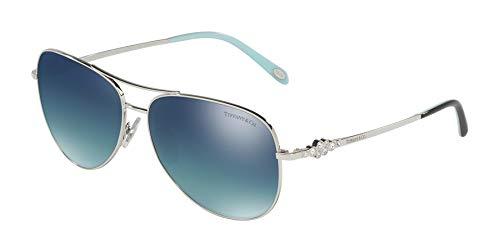 Tiffany & Co. 0TY3052B 60014Y 59 Montures de lunettes, Argenté (Silver/Ltblueegradblueemirsilpl), Femme