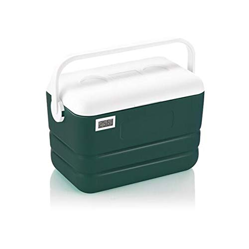 Haoyushangmao Kühler, Hochwertiger PU Inkubator Kühlschrank Fresh Drink Fresh Box 12L Tragbar Mit/ohne Temperaturanzeige (Color : I, Edition : with Thermometer)
