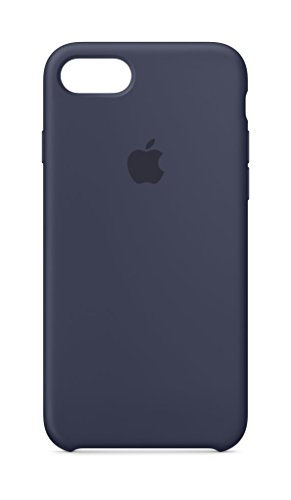 Apple Silikon Case (iPhone 8 / iPhone 7) - Mitternachtsblau