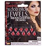 Damen Gothic Vampire Blood Drop Juwelen