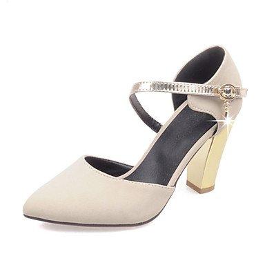 Zormey Frauen Heels Frühling Sommer Club Schuhe Formelle Schuhe Komfort Neuheit Fleece Angepasste Materialswedding Büro & Amp; Karriere Party & Amp; Abends US9 / EU40 / UK7 / CN41