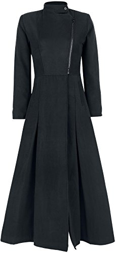 Gothicana by EMP Trinity Coat Cappotto donna nero M