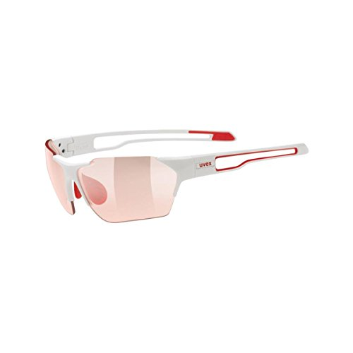 uvex sportstyle 202 vario, white red/ vario red (S1-3), -