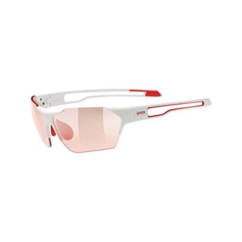 uvex sportstyle 202 vario, white red/ vario red (S1-3), -