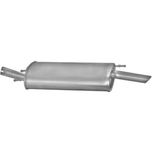 L Plus R 102 mm 60 mm Driver Sport ALGI,02,102 Doppio tubo sportiva in acciaio inox di scarico senza silenziatore