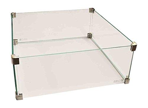Cosi Glasaufsatz Cosicube Zubehör zu Feuerstelle, Transparent (Feuerstelle Zubehör)