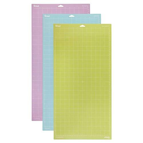 Cricut  Set de3 Tapis de Coupe, Plastique, Multicolore, 30.5 x 60.9 cm PC2003847